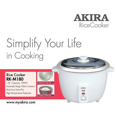 1.8L Traditional Rice Cooker + Free Delivery