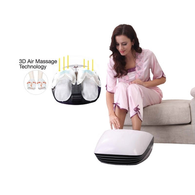 Foot Massager With Free Back Massager