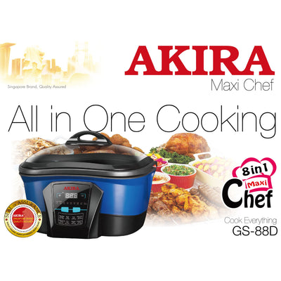 8-in-1 Multi Cooker- Digital