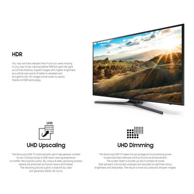 43 Inch UHD 4K HDR Premium Smart TV