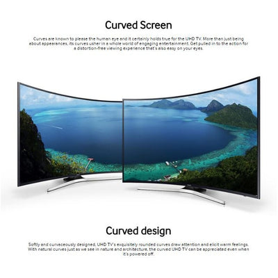 49 Inch UHD 4K Curved Smart TV + Free Gifts