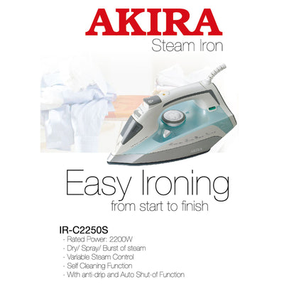 Premium Steam Iron