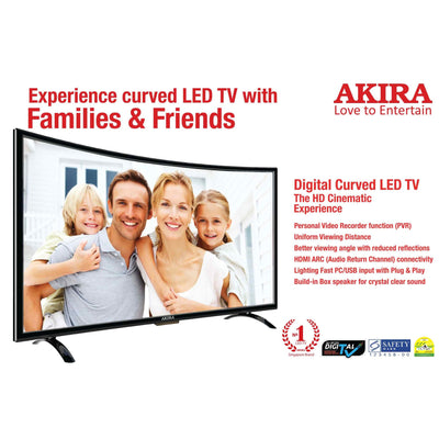 32 inch HD Curve LED TV