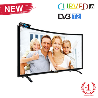 40 Inch Curved T2 Digital HD LED TV ( New Design )