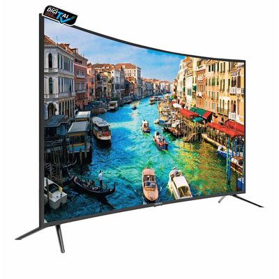 55 inch 4k UHD Curve LED TV