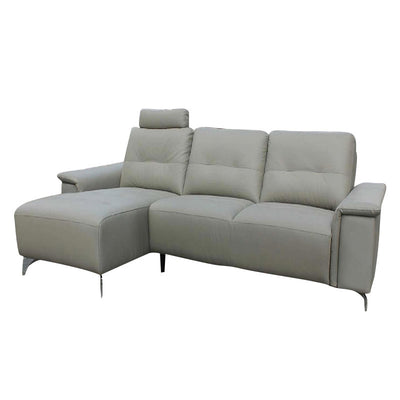 Carina L Shaped Sofa With Recliner