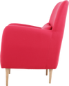 HABITAT DABORN ARMCHAIR RED OAK LEG