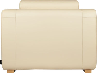 HABITAT PORTO Cream Leather Armchair