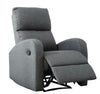 Hansen 1 Seater Recliner Sofa (Smoke Grey)