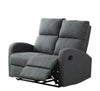 Hansen 2 Seater Recliner Sofa (Smoke Grey)