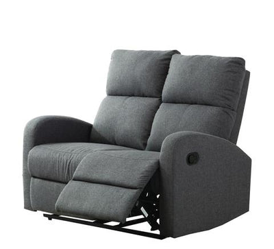 Hansen 3+2 Seater Recliner Sofa (Smoke Grey)
