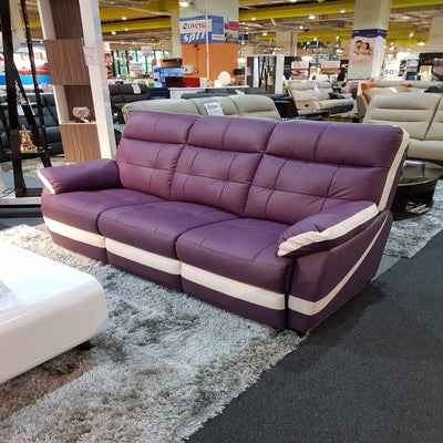 ADON 3 SEATER SOFA Half Leather