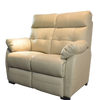 ADON 2 SEATER SOFA Half Leather
