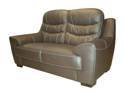 Pottery 2 Seater Sofa (Half Leather)
