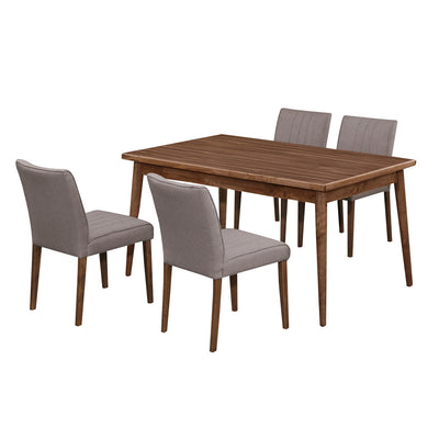 Manitoba 1+4 chair Dining Set