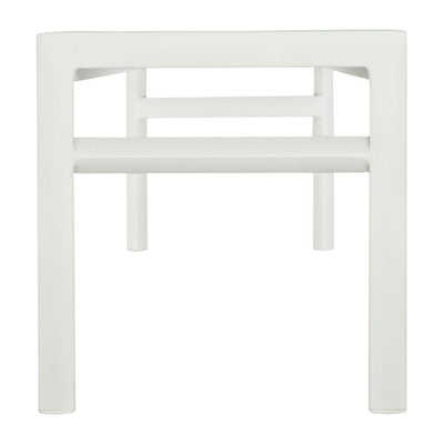 HABITAT BLANCHE/ WHITE METAL BENCH