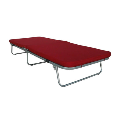 Box Furniture Bellamy Folding Bed (Maroon)