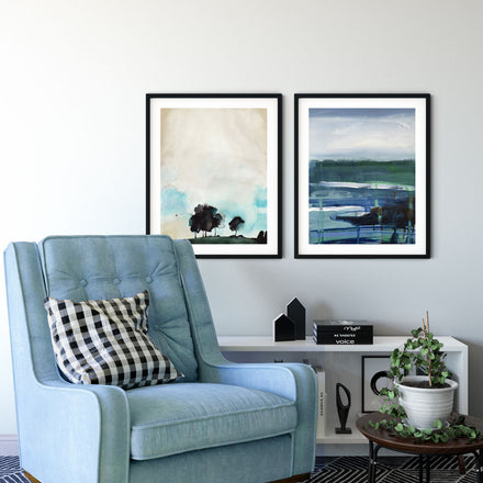 Fine art print Ocean Abstract II by artist Pamela Munger