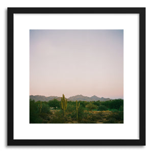 hide - Art print Desert Dusk by artist Anna Rasmussen on fine art paper