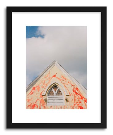 Fine art print Red Church by artist Anna Rasmussen