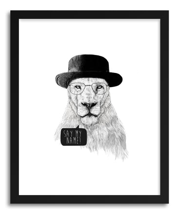 Fine art print Say My Name by artist Balazs Solti