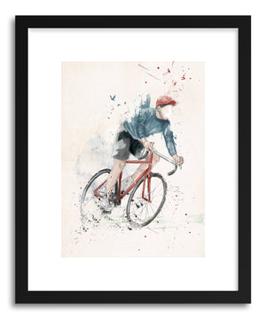Fine art print I Want To Ride My Bicycle by artist Balazs Solti