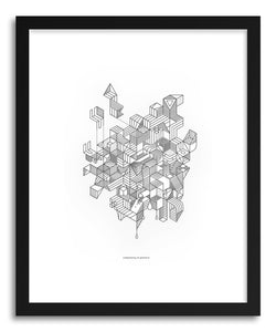 hide - Art print Simplexity by artist Benjamin White on fine art paper