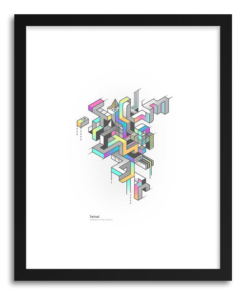 Fine art print Tetral by artist Benjamin White