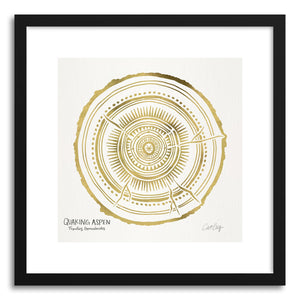 Art print Gold Quaking by artist Cat Coquillette