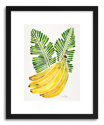 Art print Green Bananas by artist Cat Coquillette