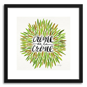 Art print Green Creme DeLa Creme by artist Cat Coquillette