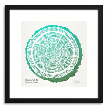Art print Green Douglas by artist Cat Coquillette