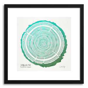 hide - Art print Green Douglas by artist Cat Coquillette on fine art paper