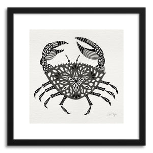 Art print Grey Crab by artist Cat Coquillette