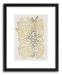 Art print Ivy Gold by artist Cat Coquillette