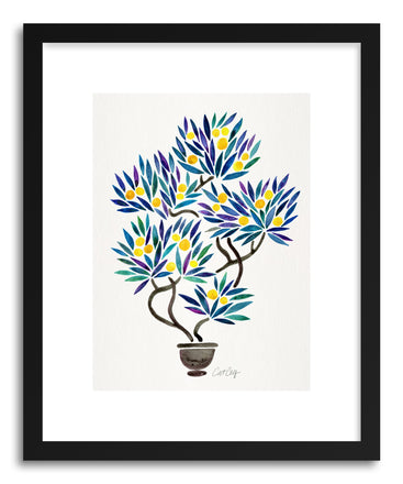 Art print Lemon Bonsai Orange by artist Cat Coquillette