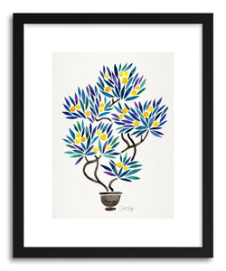 hide - Art print Lemon Bonsai Orange by artist Cat Coquillette on fine art paper