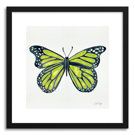 Art print Lime Butterfly by artist Cat Coquillette