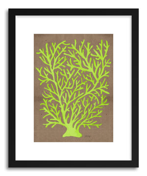 Art print Lime Coral by artist Cat Coquillette
