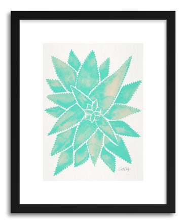 Art print Mint Aloe Vera by artist Cat Coquillette