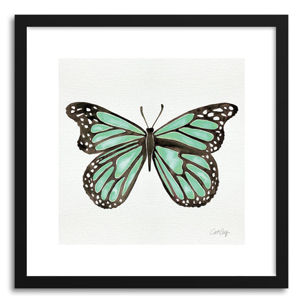 Art print Mint Butterfly by artist Cat Coquillette