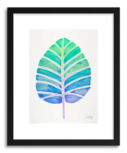 Art print Mint Ombre Alocasia by artist Cat Coquillette