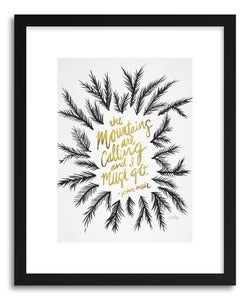 Art print Mountains Gold by artist Cat Coquillette