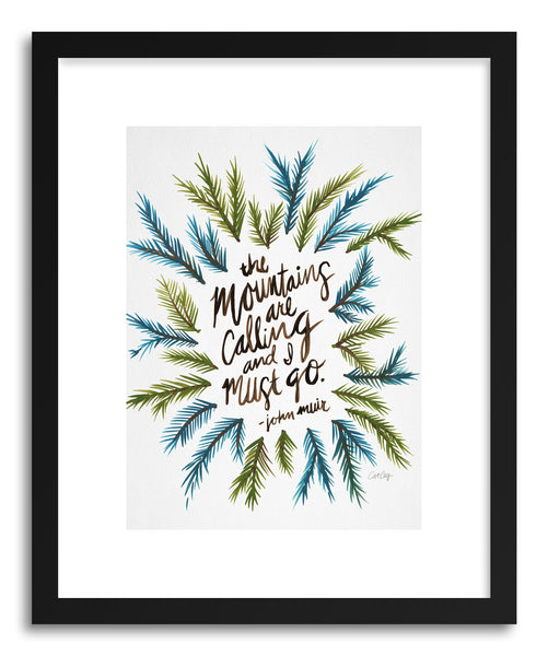 Art print Mountains Original by artist Cat Coquillette