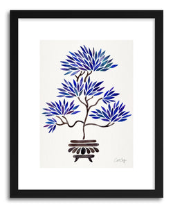 Art print Navy Bonsai by artist Cat Coquillette