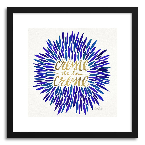 Art print Navy CremeDeLa Creme by artist Cat Coquillette