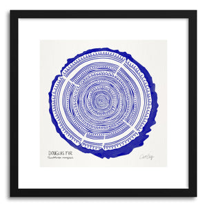 Art print Navy Douglas by artist Cat Coquillette