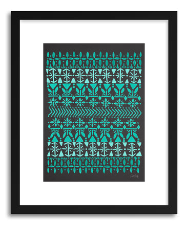 Art print Norwegian Blue on Slate by artist Cat Coquillette