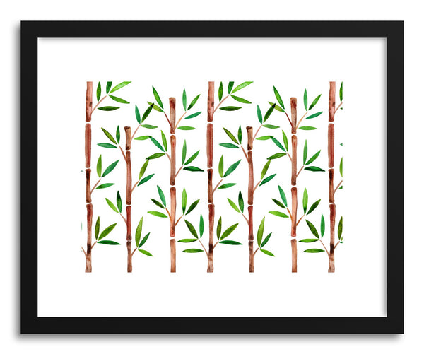 Art print Original Bamboo Pattern by artist Cat Coquillette