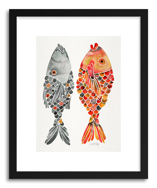 Art print Original Indonesian Fish by artist Cat Coquillette